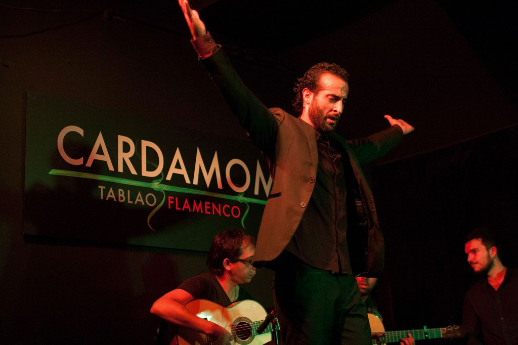 Flamenco live show at Cardamomo Madrid