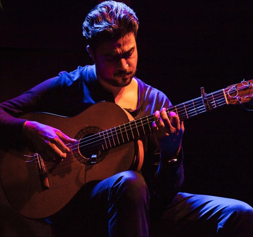 Guitarrista Juan Jiménez Abadía