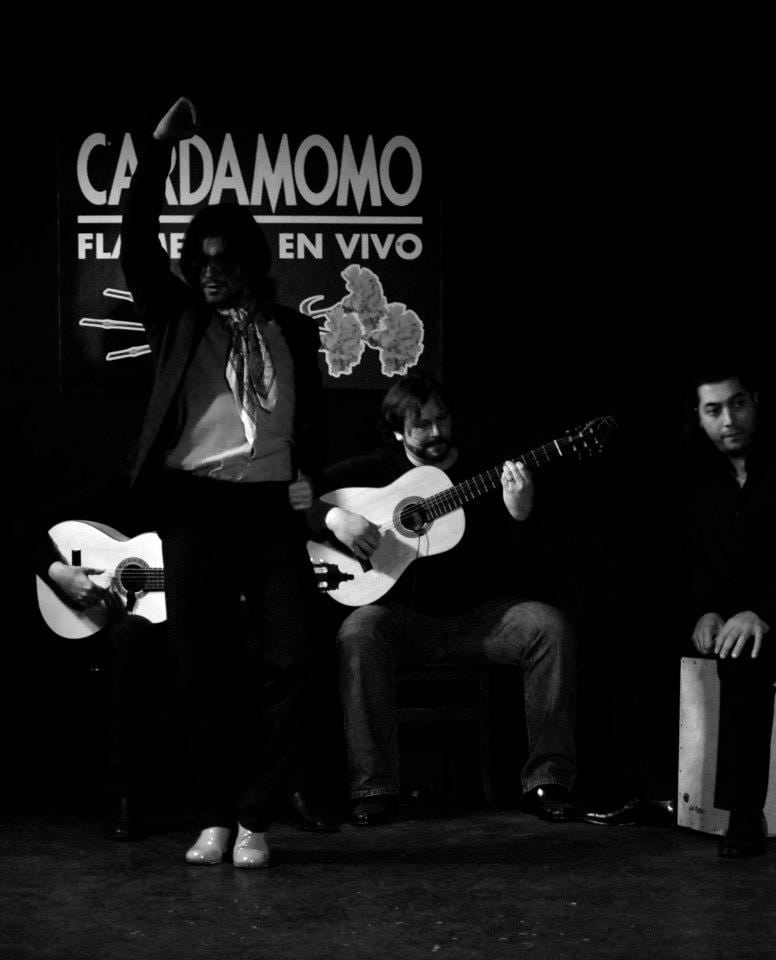 tablao flamenco cardamomo madrid pol vaquero