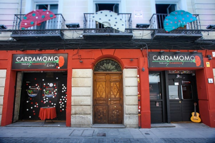 cardamomo tablao flamenco madrid calle echegaray
