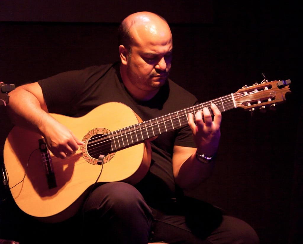 david jimenez abadia guitarra flamenco madrid tablao cardamomo
