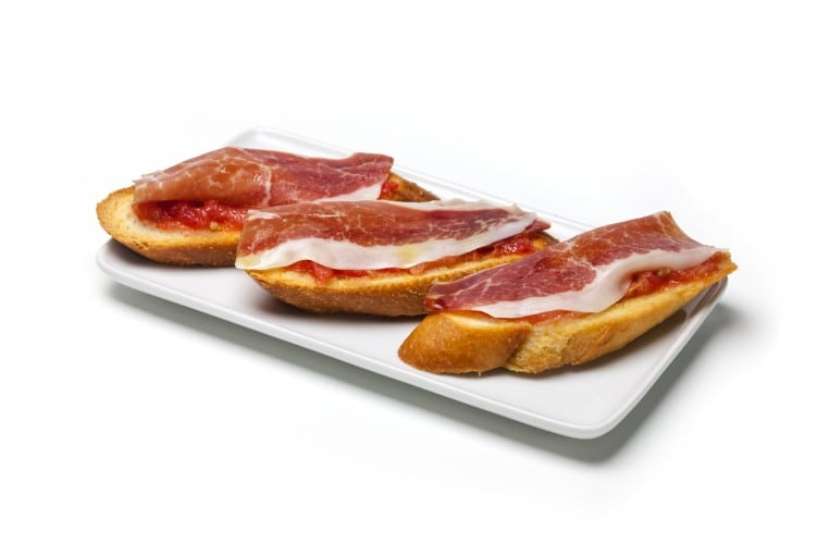 tapas tostas jamon flamenco cardamomo madrid tablao menu