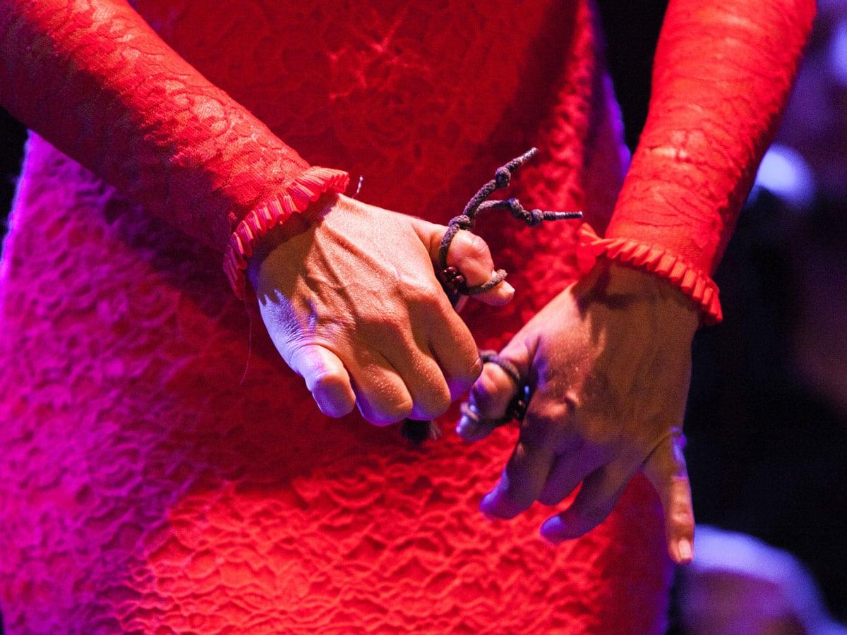 Castañuelas de flamenco en Madrid