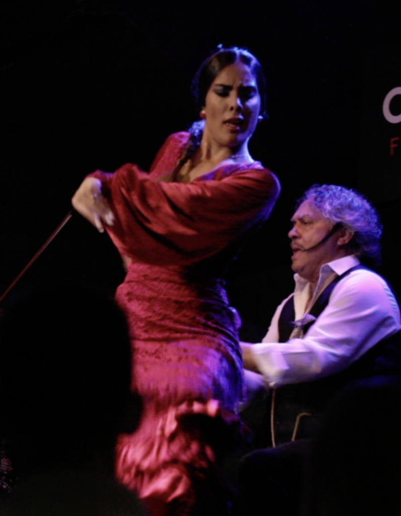 alba heredia bailaora flamenco madrid cardamomo tablao