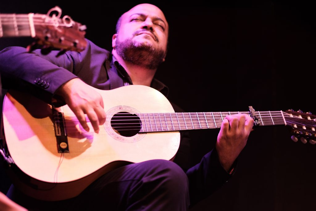 guitarra flamenco madrid tablao cardamomo