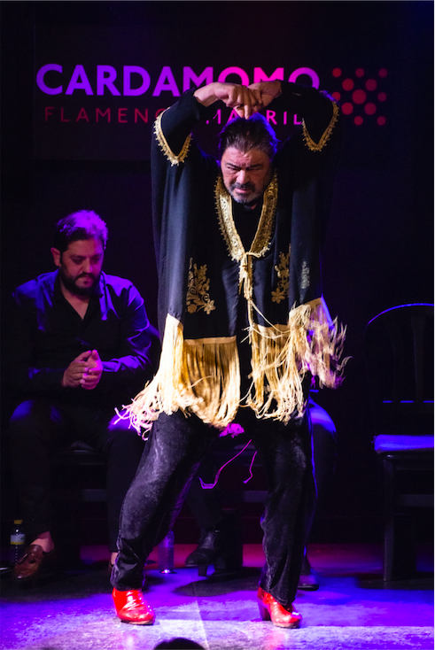 Antonio Canales en tablao Cardamomo Flamenco Madrid