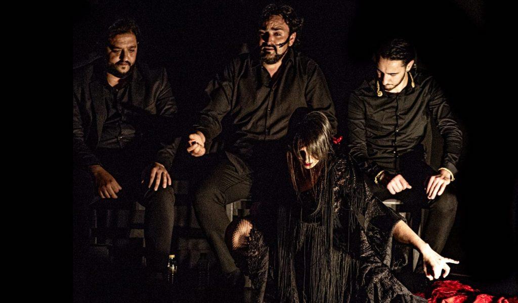 Es Paula Rodríguez en Cardamomo Flamenco Madrid