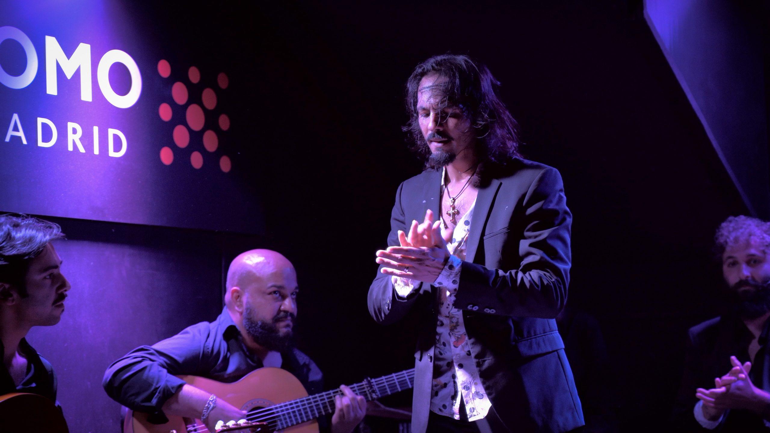 Farruquito en el Tablao Flamenco Cardamomo Madrid
