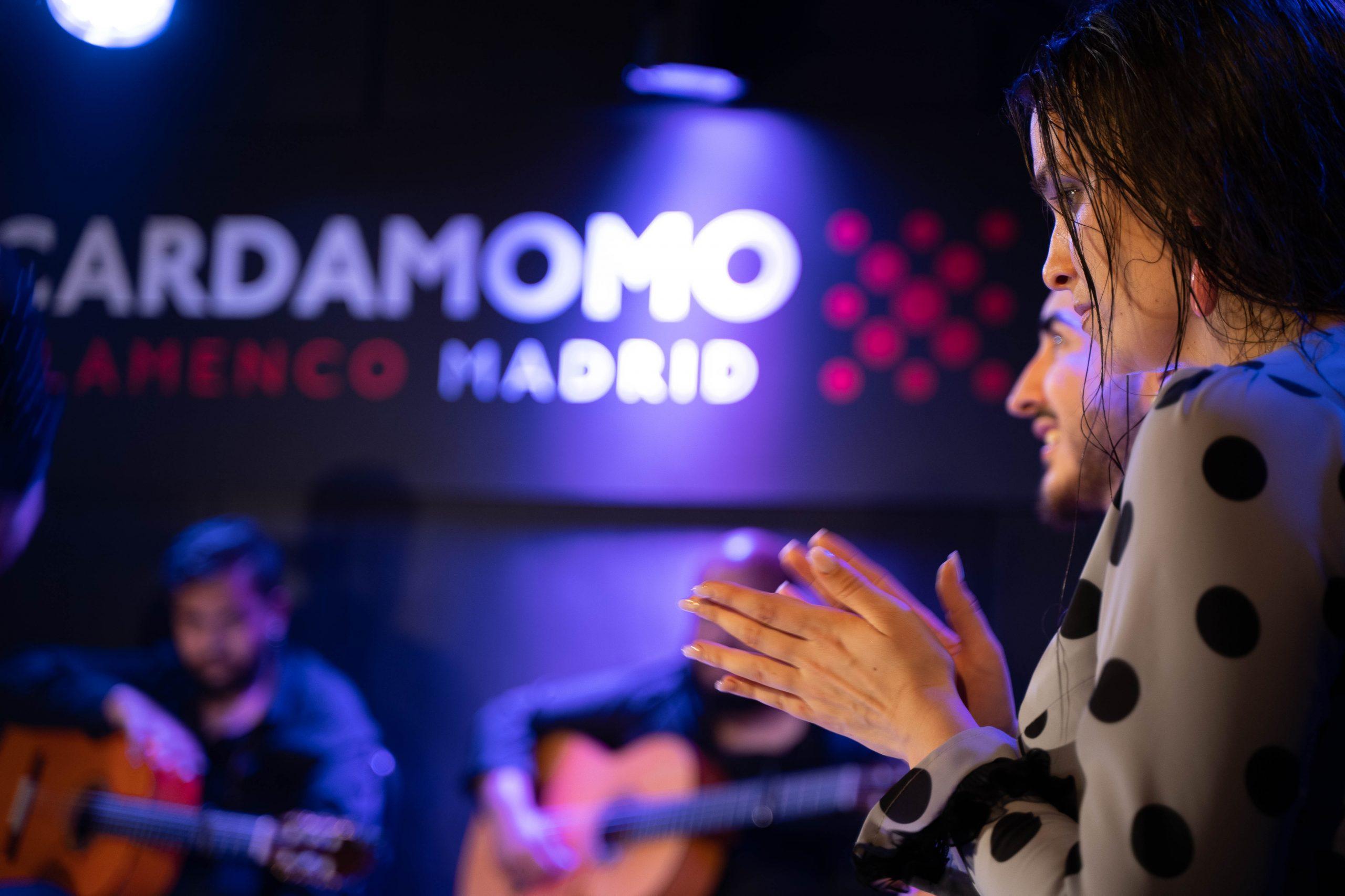 Show en Cardamomo Flamenco Madrid