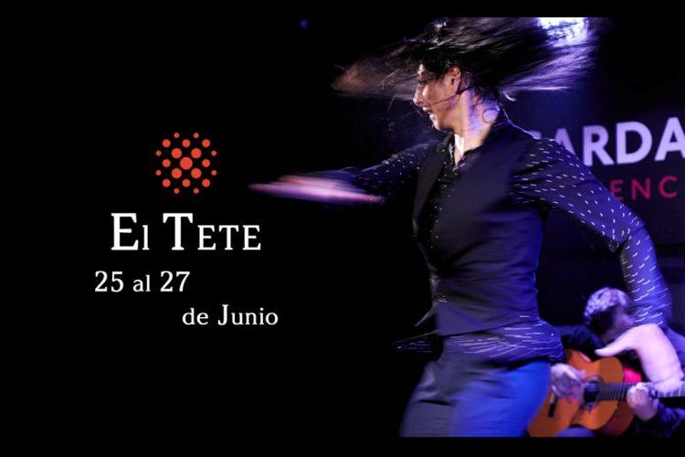El Tete en Cardamomo, flamenco madrid Junio