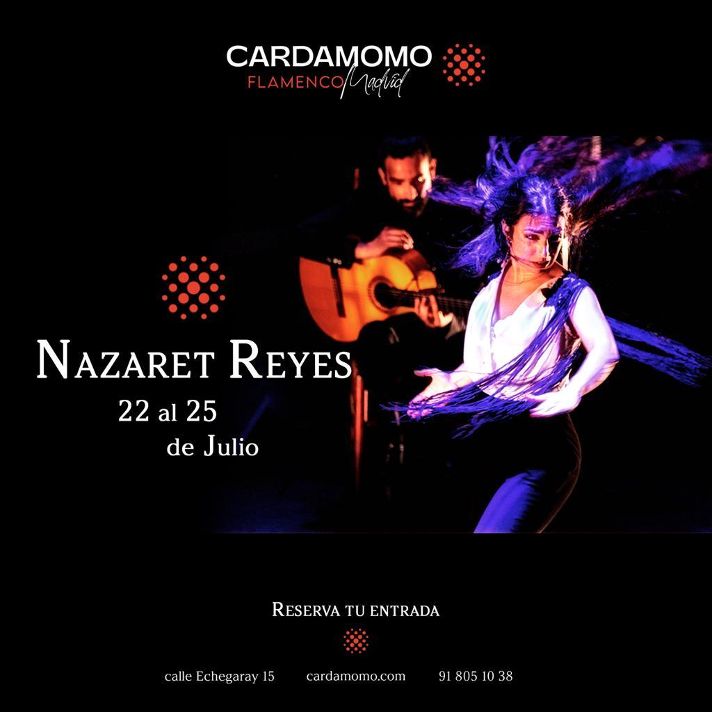 Nazaret Reyes bailaora de flamenco en Cardamomo en Julio