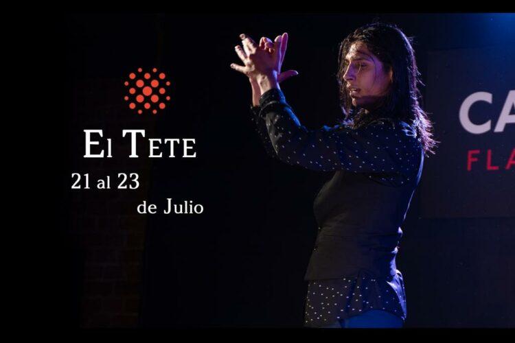 El Tete joven bailaor flamenco en Cardamomo en Julio