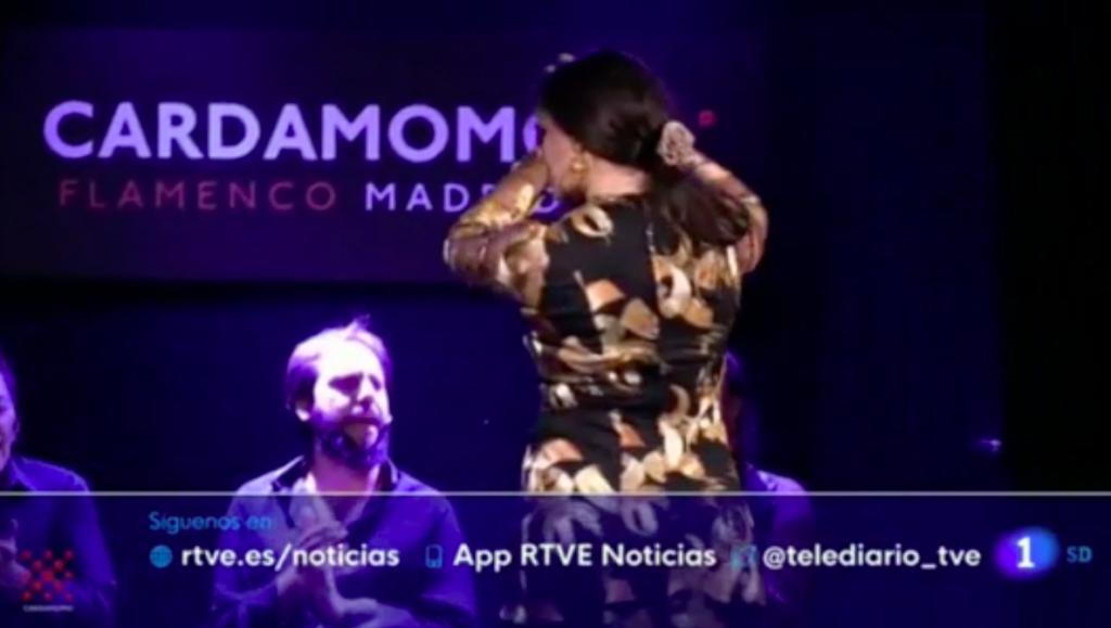 Paula Rodríguez-Cardamomo Flamenco Madrid-RTVE