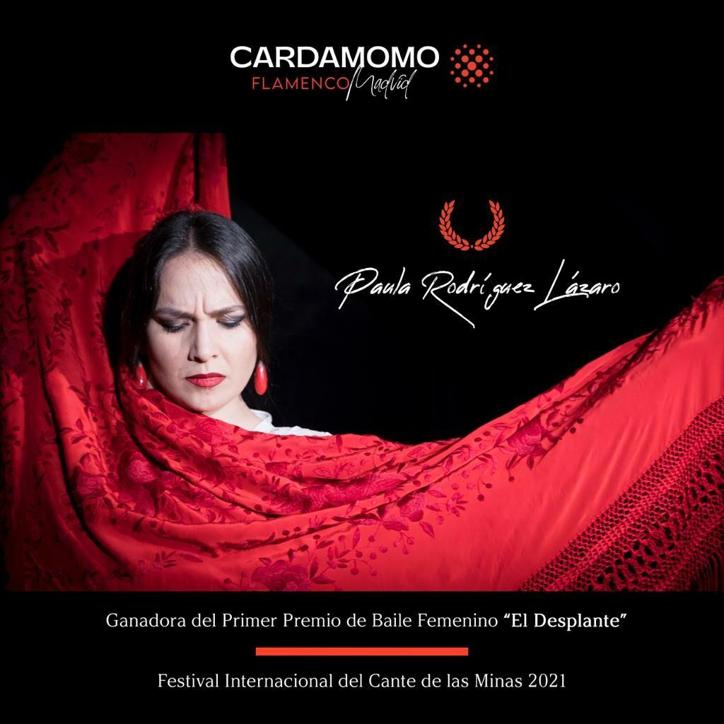 Paula Rodríguez Cardamomo Flamenco Madrid