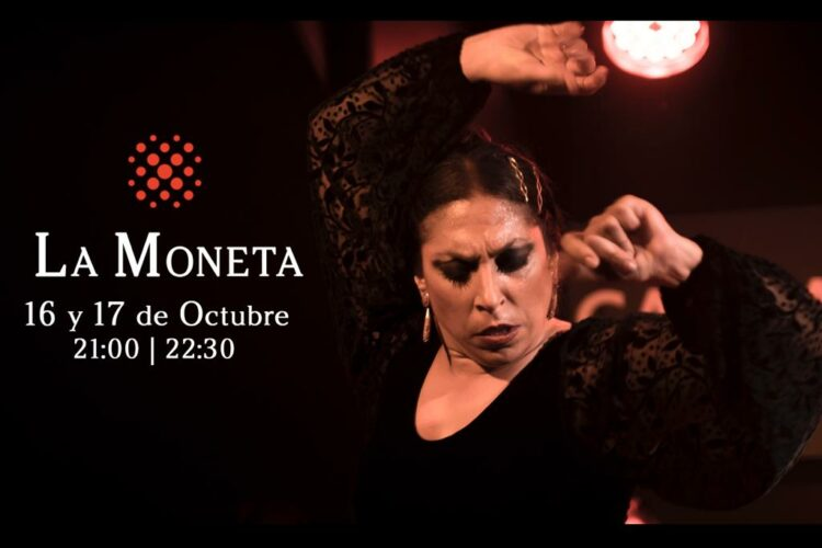 Bailaora Flamenca Fuensanta La Moneta en Cardamomo en Octubre de 2021